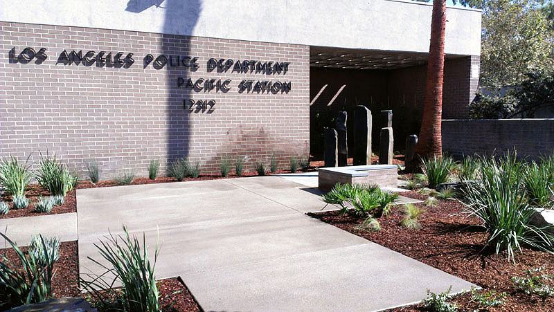 LAPD Pacific Station-Stonework-Beautification-P1