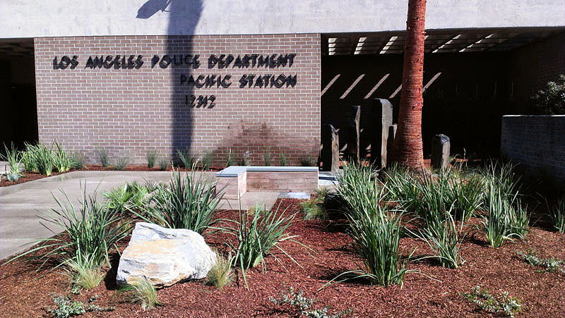 LAPD Pacific Station-Stonework-Beautification-P11