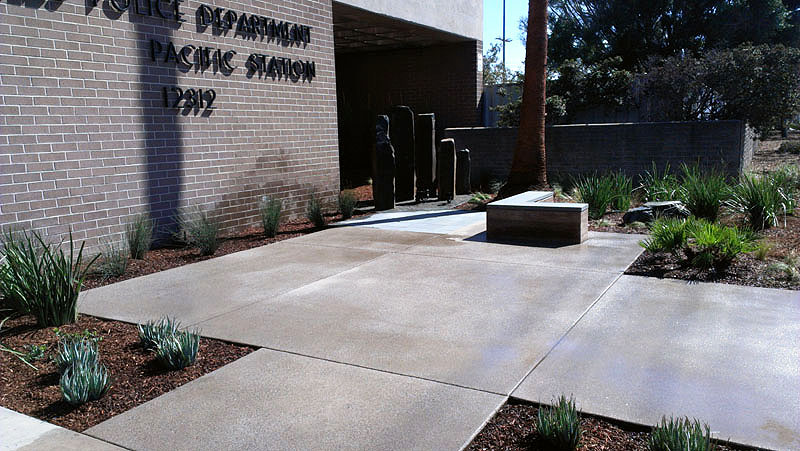 LAPD Pacific Station-Stonework-Beautification-P10