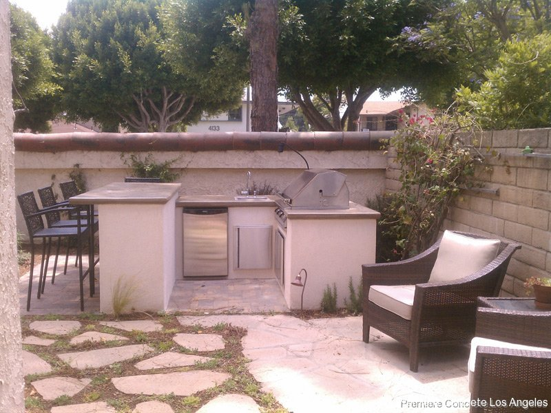 Outdoor Kitchens, Firepits, Fireplaces-1