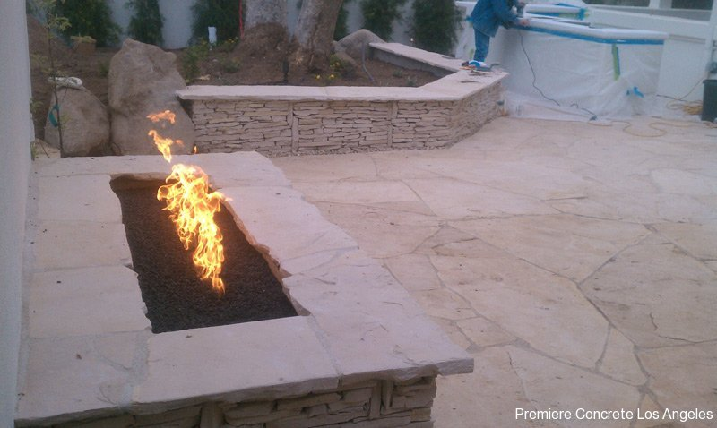 Outdoor Kitchens, Firepits, Fireplaces-34