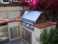 Outdoor Kitchens, Firepits, Fireplaces-5