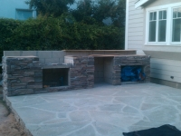 Outdoor Kitchens, Firepits, Fireplaces-12