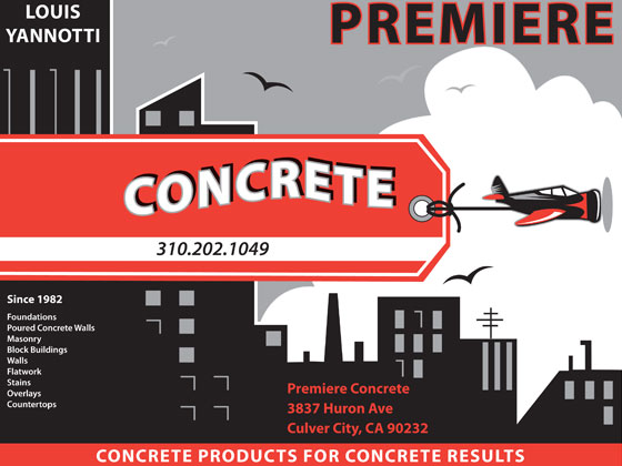 Premiere Concrete Contact Us Flier