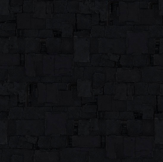 Premiere Concrete black shapes background