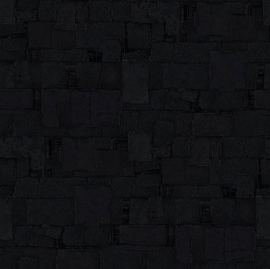 Premiere Concrete black shapes background