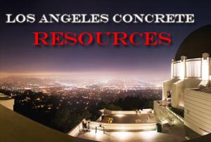 Los Angeles Concrete Resoruces