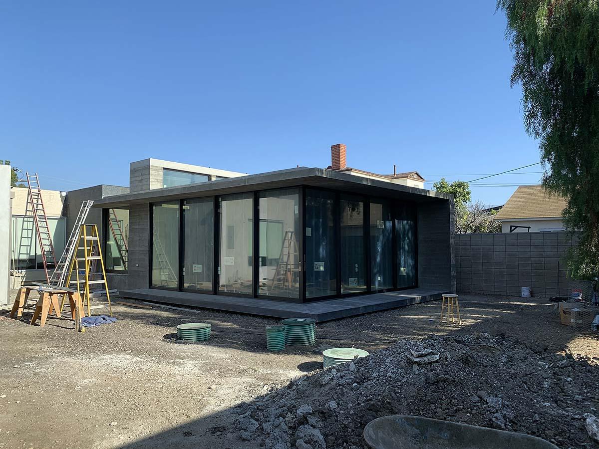 Premiere Concrete completed concrete home exterior